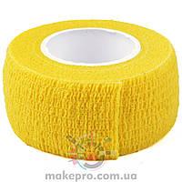Бандаж вузький жовтий
