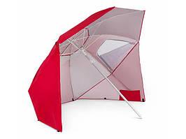 Пляжна парасолька Sora (червона)