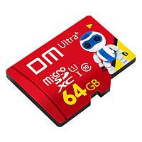Micro SDXC 64GB - карта пам'яті мікро СД на 64 гб Class 10 USH-1 DM Ultra+, фото 1