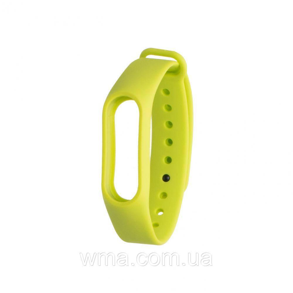 Ремешок для браслета Xiaomi Mi Band 2 Original Design Цвет Салатовый