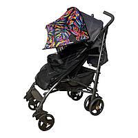 Козырек на коляску универсальный 2 в 1 с черной москитной сеткой Must Have Shade / козырек для коляски, фото 1