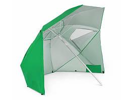 Пляжна парасолька Sora (червона) Зеленый