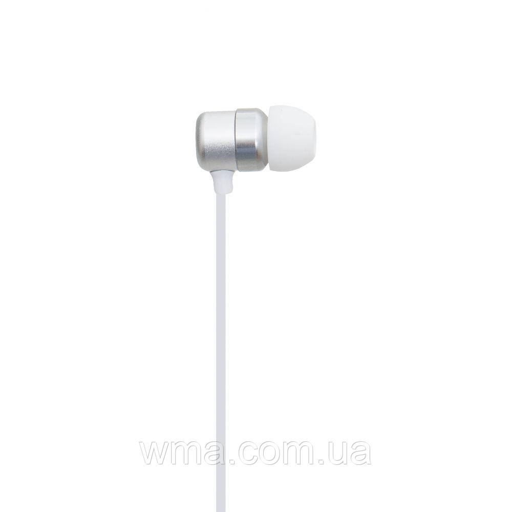 Проводные наушники для телефона Celebrat G2 Цвет Белый