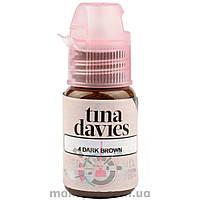 15 ml Perma Blend Dark Brown [Tina Davies] Треснула крышечка