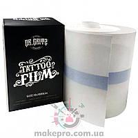 Пленка для заживления тату Dr. Gritz Protective Tattoo Aftercare Film 10 см х 10 м (рулон)