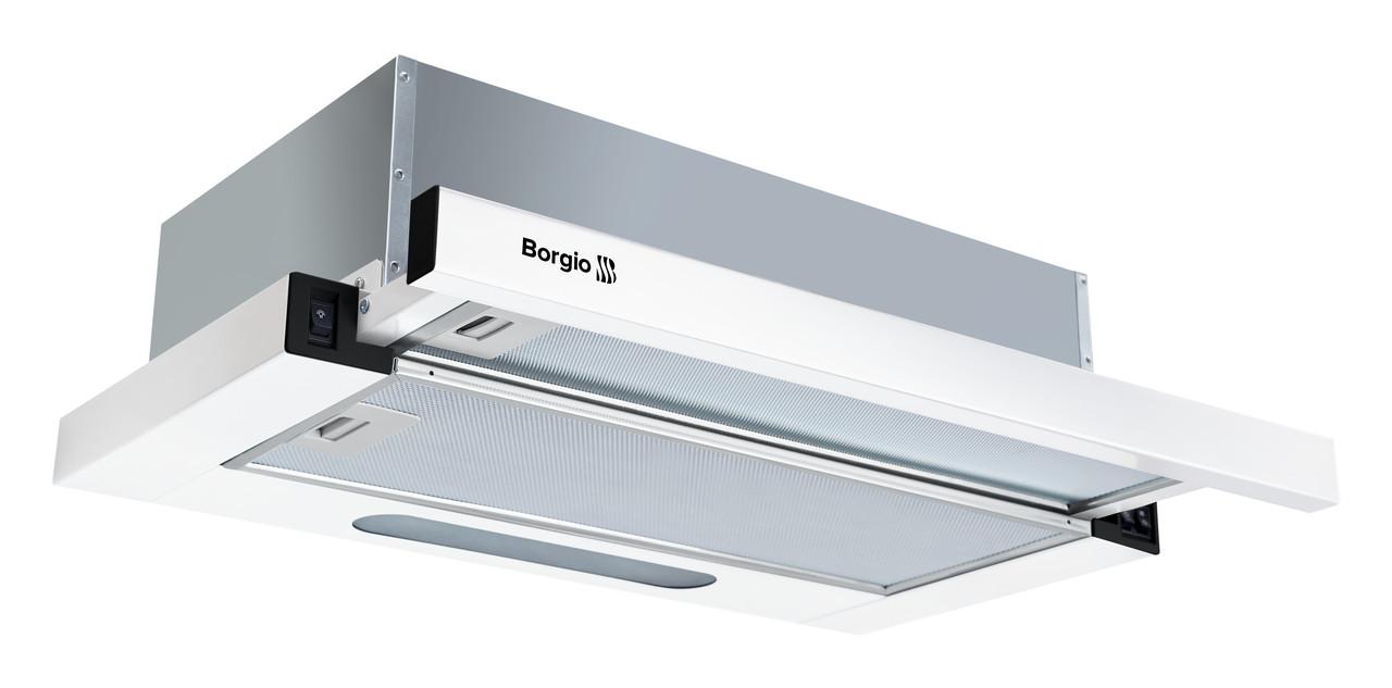 Кухонна витяжка вбудована BORGIO SLIM (TR) 60 white