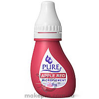 3 ml. Pure Apple Red Pigment Biotouch / Червоне яблуко [Придатний до 01.01.2021]