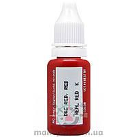 15 ml. Real Red Biotouch / Естественный красный [годен до 01.02.2021]