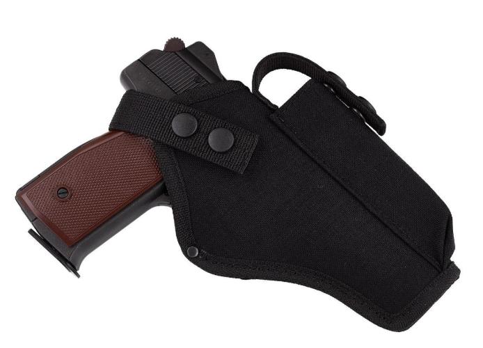 Кобура АПС (Автоматический пистолет Стечкина) поясная с чехлом под магазин (CORDURA 1000D, черная)