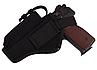 Кобура АПС (Автоматический пистолет Стечкина) поясная с чехлом под магазин (CORDURA 1000D, черная), фото 3