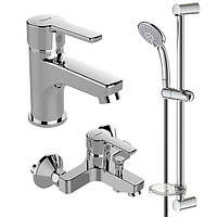 Смеситель VIDIMA CALISTA набор ванна+умывальник+душ.стойка (В1435АА)