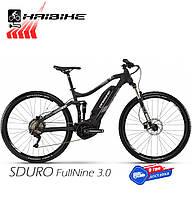 Электровелосипед 29 HAIBIKE SDURO FullNine 3.0 двухподвес рама L черный (4540198948)