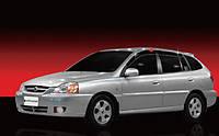 Дефлекторы окон(Ветровики) Kia Rio(хетчбек) 2000-2005 (Autoclover/Корея/A055)