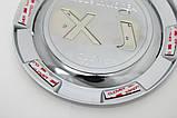 Хром-накладки на лючок бензобака Hyundai IX35 2009-2014 (Autoclover B346), фото 7