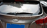 Хром накладки на задний дворник Hyundai IX35 2009-2014 (Autoclover B721), фото 9