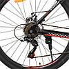 Гірський Велосипед 26 Д. G26ENERGY A26.1 чорно-червоний, фото 2