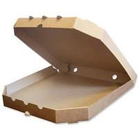 Картонная коробка для пиццы 30 см бурая (уп-100 шт)