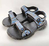 Детские босоножки сандалии для мальчика 35р 22см Clibee синий