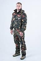 Камуфляжный костюм летний КМ-3 Тёмный лен, фото 1
