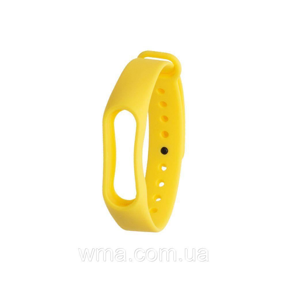 Ремешок Xiaomi Mi Band 2 Original Design Цвет Жёлтый
