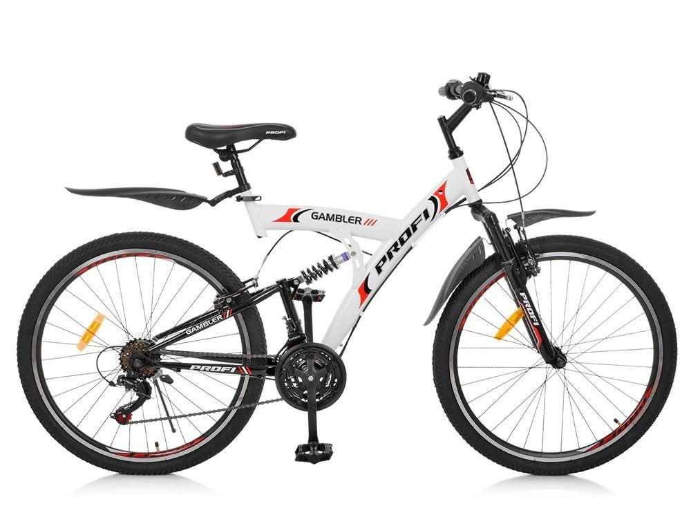 Горный Велосипед 26 Д. G26GAMBLER S26MIX белый