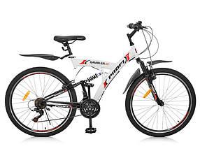 Гірський Велосипед 26 Д. G26GAMBLER S26MIX білий