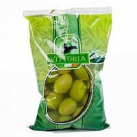 Оливки зеленые с косточкой Vittoria Olive Giganti 850 гр