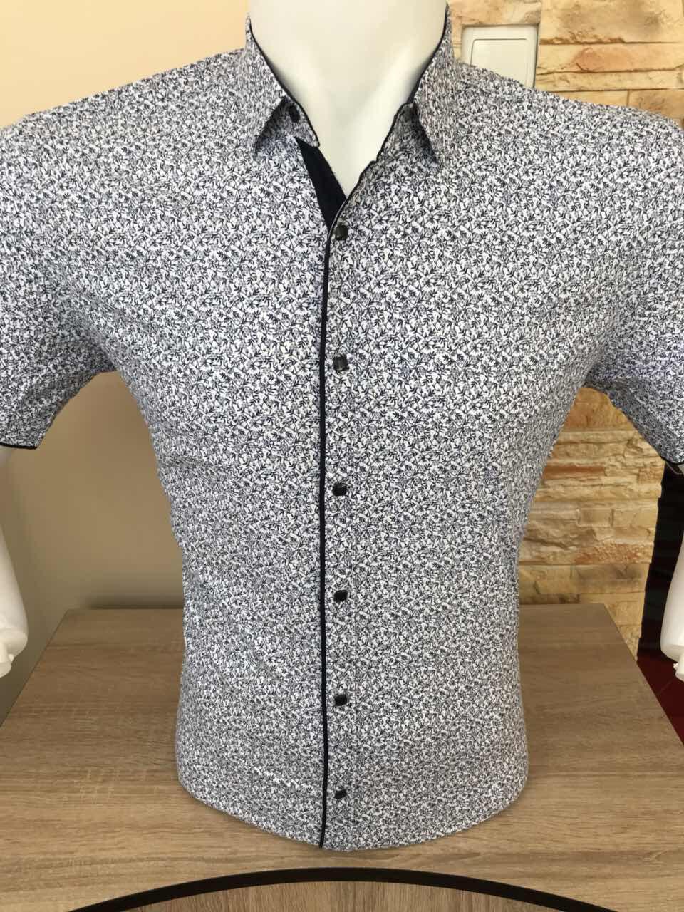 Рубашка короткий рукав AND с принтом