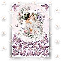 Печать съедобного фото - Вафельная бумага - Для мамы №3
