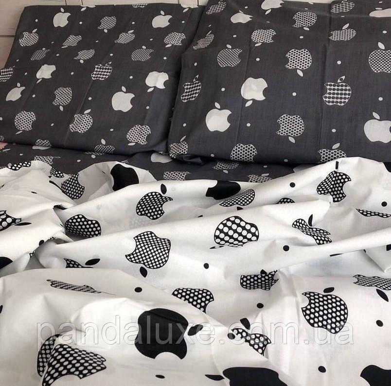 Постельное белье бязь голд, двуспальный семейный комплект Яблоко, фото 2