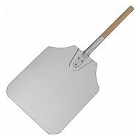 Лопата для пиццы алюмин. 30*35 см с дерев. ручк. 90см