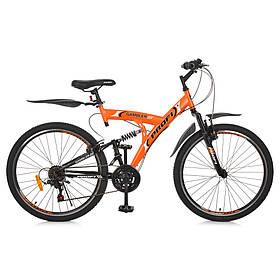 Гірський Велосипед 26 Д. G26GAMBLER S26MIX помаранчевий