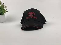 Кепка бейсболка Авто Toyota (черная)