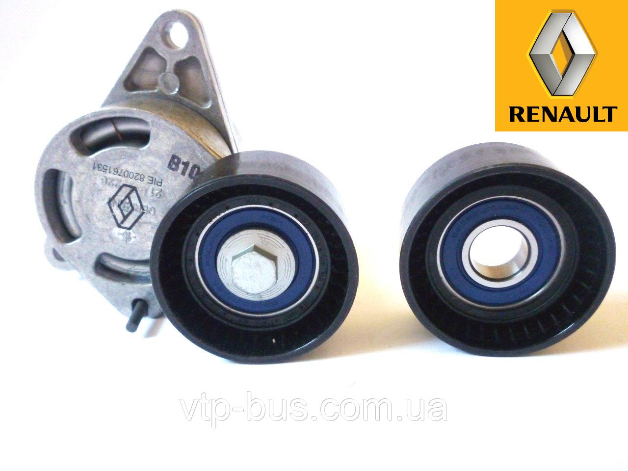 Комплект роликов генератора на Renault Trafic 2.5dCi (135 / 146 л.с.) 2003-2014 Renault (оригинал) 7701475629