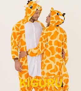 Пижама для вечеринки кигуруми жираф