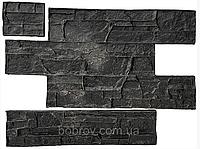 """Комплект Полиуретановый штампов """"Аляска"""" для настенной печати по бетону и штукатурке 610*310 мм"""