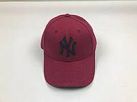 Кепка бейсболка New York Yankees MLB (бордовая)
