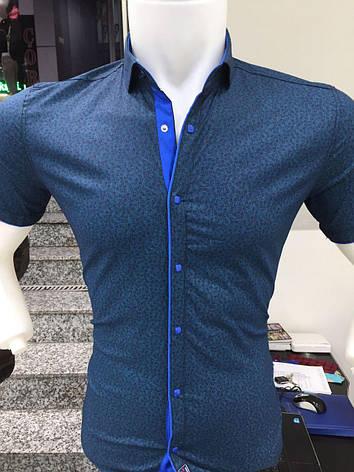 Сорочка короткий рукав X-Port візерунок, фото 2