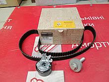 Комплект ремінь (+ролик) дизель 1,5 DCI K9K RENAULT(Original) - 7701477028
