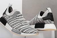 Оригинальные мужские кроссовки adidas NMD R1 STLT Grey Black CQ2387