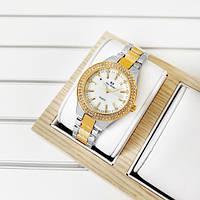 Женские наручные часы Bee Sister 1258 Gold-Silver-White Diamonds