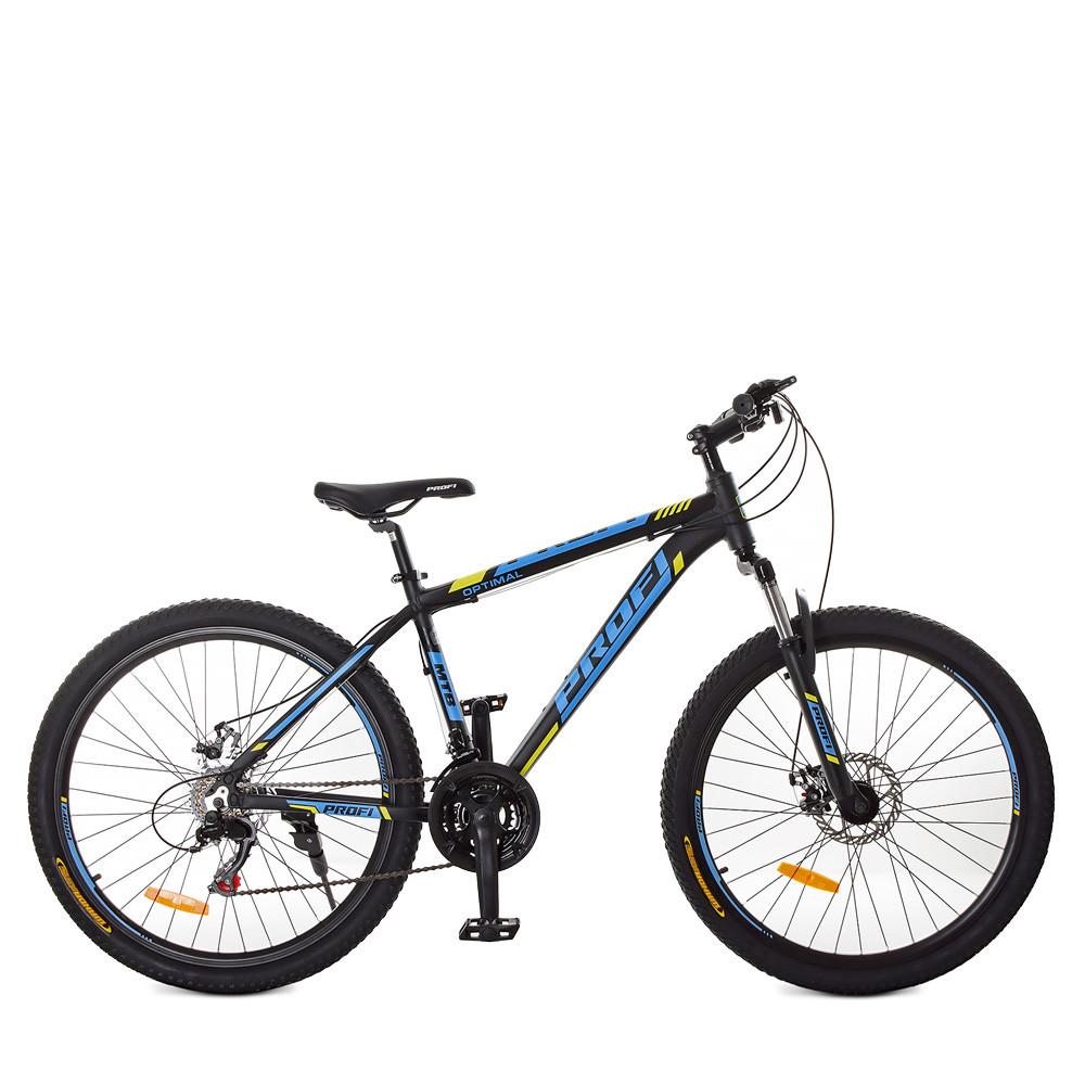 Горный Велосипед 26 Д. G26OPTIMAL A26.1 черно-синий