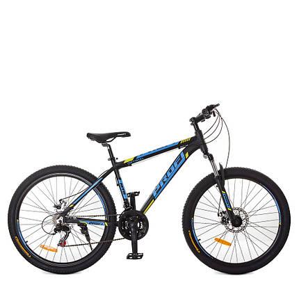 Горный Велосипед 26 Д. G26OPTIMAL A26.1 черно-синий, фото 2