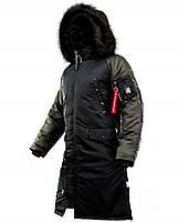 Оригінальна чоловіча куртка AIRBOSS N-7B Shuttle Challenger 17300763221T (чорний/білуга)