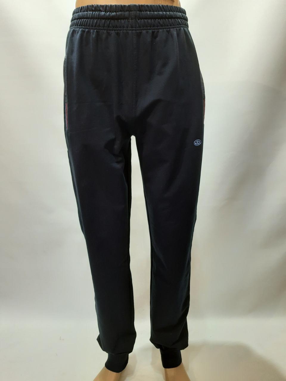 Спортивные штаны под манжет Billcee Р. L, xl, 2xl, 3xl темно-синие отличного качества