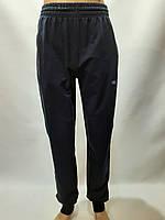Спортивные штаны под манжет Billcee Р. L, xl, 2xl, 3xl темно-синие отличного качества, фото 1