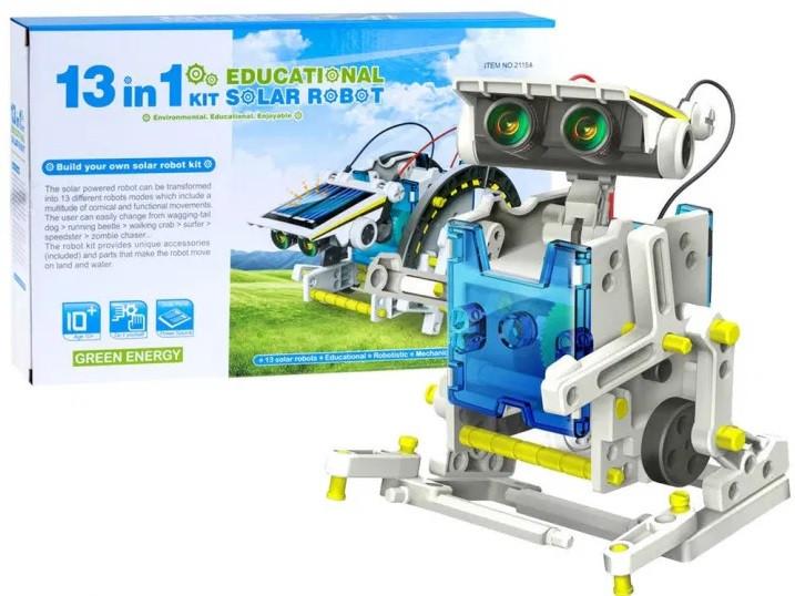 Конструктор на солнечной батарее 13 в 1 Solar Robot 2115A