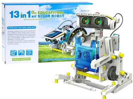 Конструктор на солнечной батарее 13 в 1 Solar Robot 2115A, фото 2