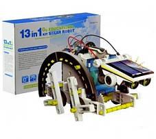 Конструктор на солнечной батарее 13 в 1 Solar Robot 2115A, фото 3