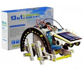 Конструктор на сонячній батареї 13 в 1 Solar Robot 2115A
